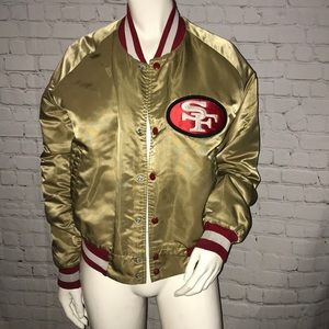 Vintage Chalkline San Francisco 49er Bomber Jacket